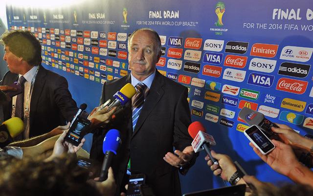 Scolari nem panaszkodhat - Fotó: AFP