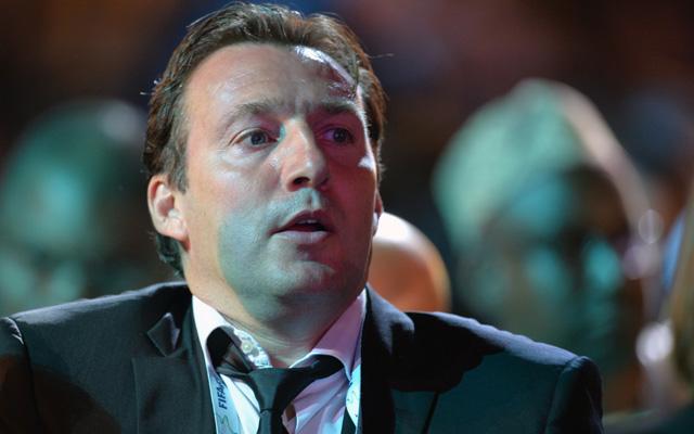 Marc Wilmots nagyon izgult, végül örülhetett - Fotó: AFP