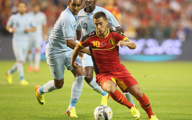 A Chelsea sztárja, Eden Hazard felnőtt szinten nem játszott belga klubcsapatban