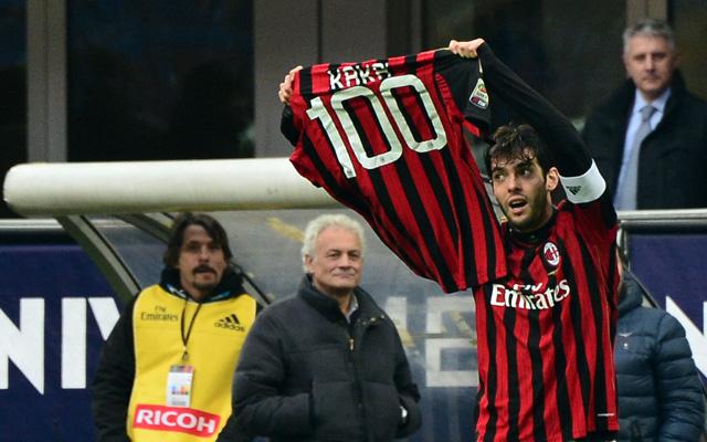 Kaká személyes sikert is ünnepelhetett - fotó: AFP