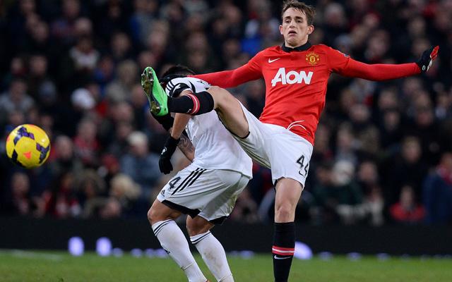 Adnan Januzaj és a Manchester United határozott volt, megbosszulta a kupakiesést a Swansea-nak - Fotó: AFP
