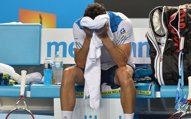 Bellucci se bírt a meleggel - Fotó: AFP