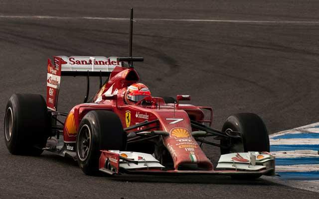 Räikkönen idén is csak szenvedni fog? - Fotó: AFP