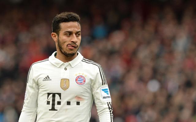 Thiago Alcantara és a Bayern számára könnyed falat lehet a Freiburg - Fotó: AFP