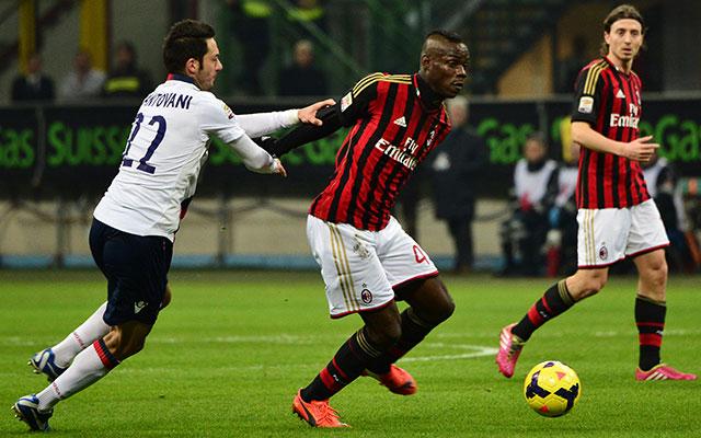 Balotelli szenzációs gólt szerzett - fotó: AFP