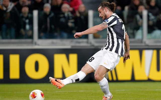 Osvaldo megszerezte első gólját a Juventusban - Fotó: AFP