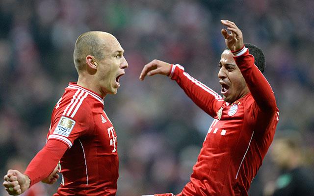 A Bayernnek nem jelenthet gondot a Hamburg legyőzése.
