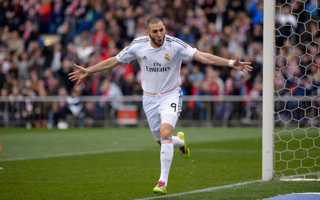 Benzema remek szezont fut - Fotó: AFP