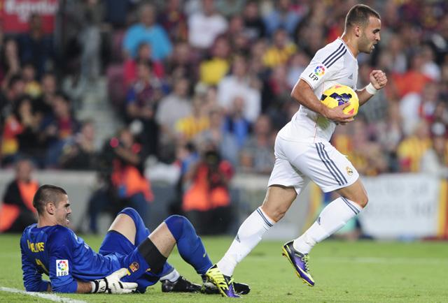 A Barcelonában 2-1-re elveszített El Clásicón Jesé lőtte a Real szépítő gólját - Fotó: AFP
