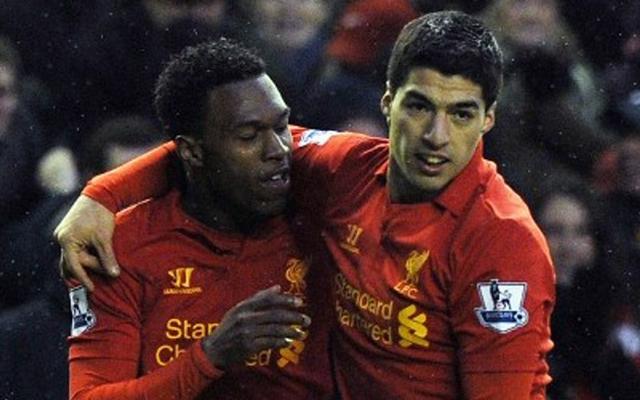 Suárez és Strurridge 48 gólt szerzett idáig a Premier League-ben / AFP