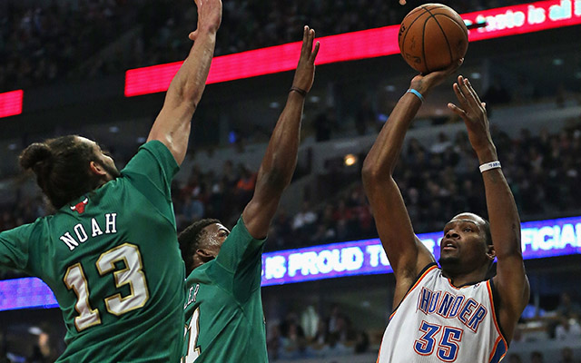 Kevin Durant MVP-formában - Fotó: AFP