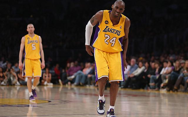 Kobe Bryant hiányát nem tudta elviselni a Lakers - Fotó: AFP