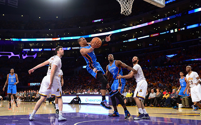 Westbrook hiányát annyira nem érezte meg a Thunder - Fotó: AFP