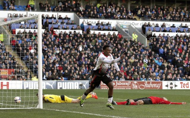 Sturridge szombaton a Cardiff ellen is eredményes volt - Fotó: AFP
