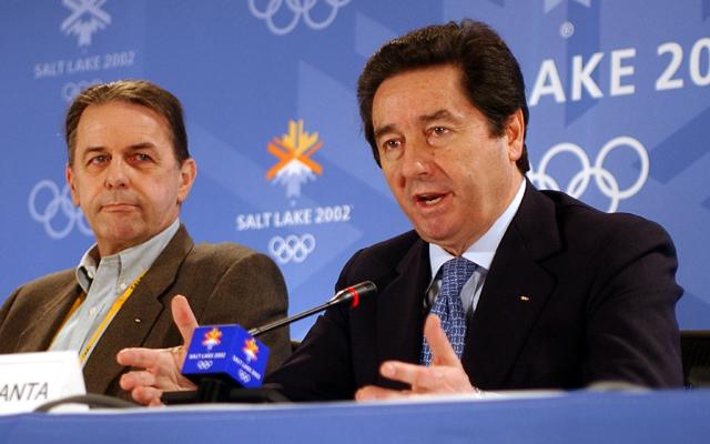 Az olasz sportvezető miatt 2002-ben még a NOB-elnök is magyarázkodni kényszerült