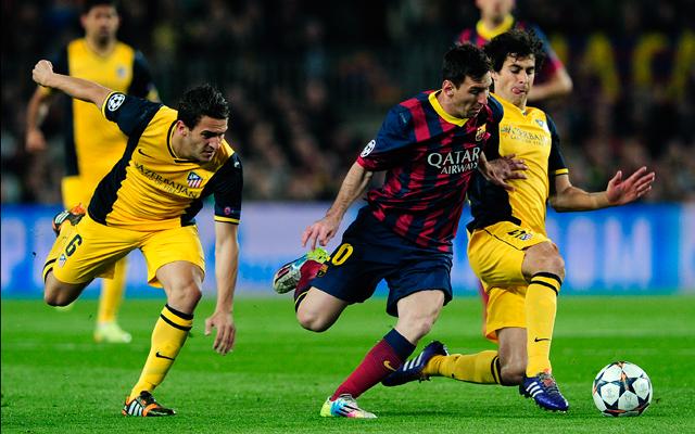 Lionel Messiék nem tudtak előnyt szerezni a madridi visszavágóra - Fotó: AFP