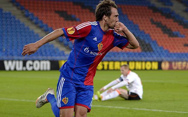 Delgado tulajdonképpen az elődöntőbe lőtte a Baselt - Fotó: AFP