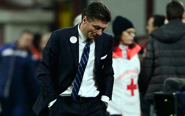 Mazzarri egy szezon után távozhat Milánóból - Fotó: AFP