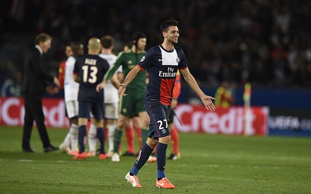 Pastore nagyon fontos gólt lőtt - Fotó: AFP