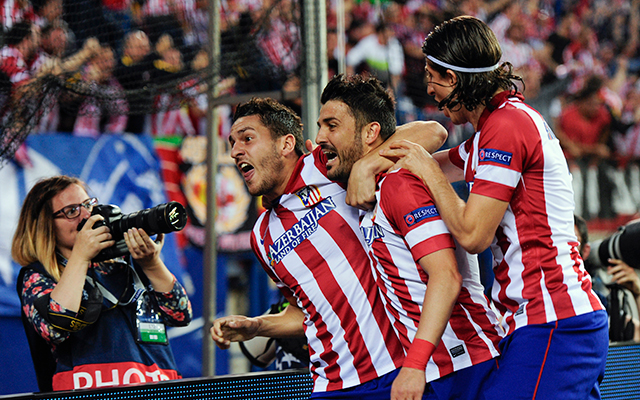 Az Atlético megérdemelten jutott tovább - Fotó: AFP