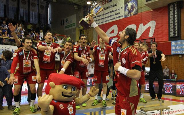 Sorozatban hatodszor kupagyőztes a Veszprém - Fotó: MTI, Kovács Anikó