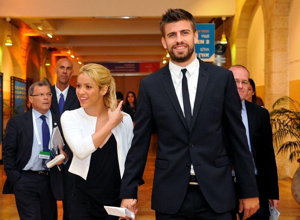 Shakira és Piqué tavaly házasodott össze