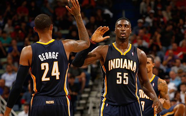 A Pacers gyengébben muzsikált az elmúlt hetekben, de vajon ez mennyire látszik majd a rájátszásban? - Fotó: AFP