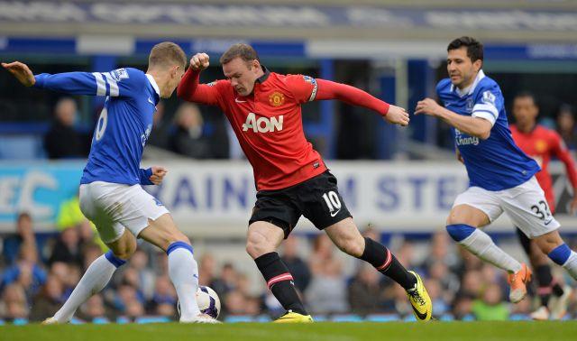 Rooney és társai könnyűnek találtattak ebben a szezonban - fotó: AFP