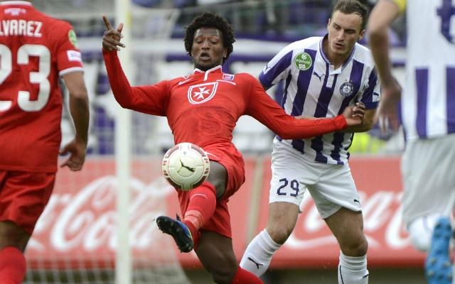 Zé Luis (pirosban) duplája három pontot ért a Videotonnak - Fotó: MTI