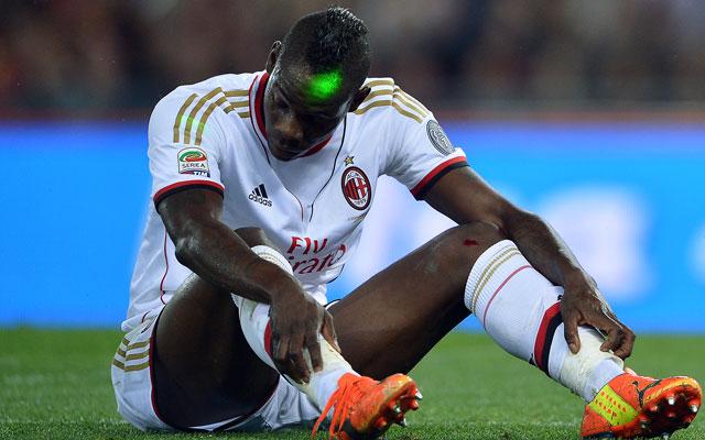 Balotelli valamilyen módon mindig figyelmet követel - Fotó: AFP