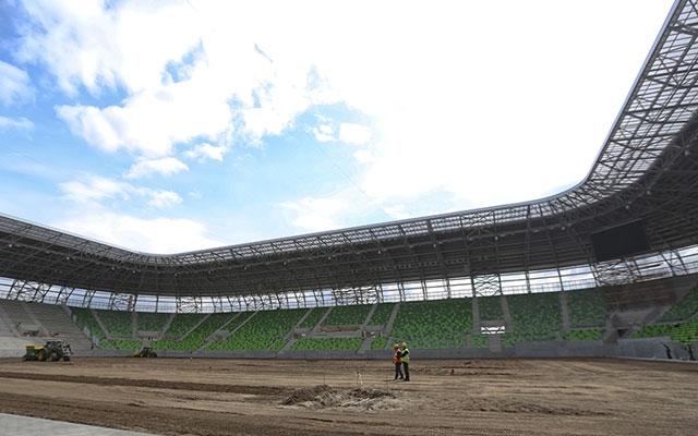Augusztusban vehetik birtokba a játékosok és a szurkolók az új stadiont - Fotó: www.fradi.hu