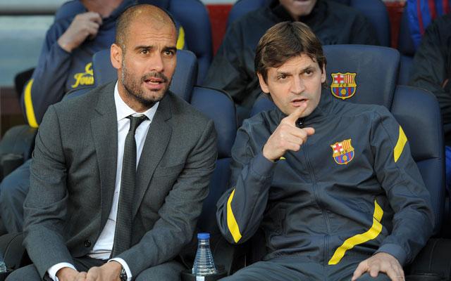 Guardiola egykori segítőjére emlékezett - Fotó:AFP