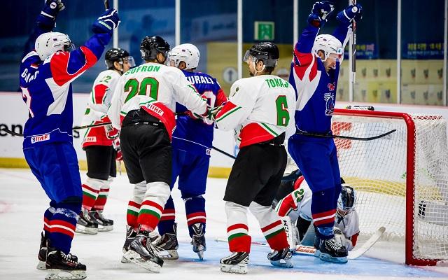 Szlovénia megérdemelten nyert. - Fotó: MTI (MJSZ által közreadott kép)