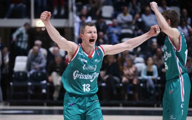 Kaukenas és a Reggiana csak az arannyal lenne elégedett. - Fotó: pallacanestroreggiana.it