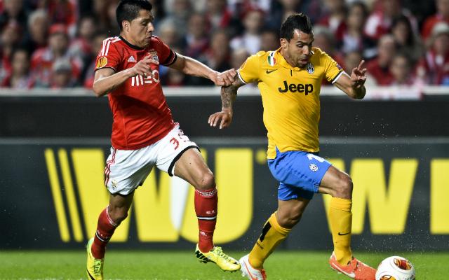 Carlos Tévez 2009 után újra gólt szerzett nemzetközi kupameccsen - Fotó: AFP