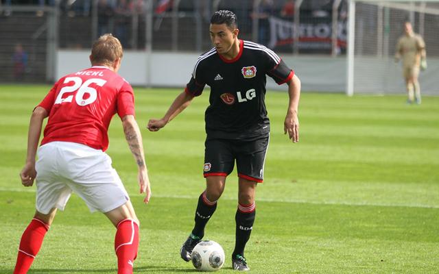 Aziz Bouhaddouz a Bayer Leverkusen tartalékcsapatában ontja a gólokat