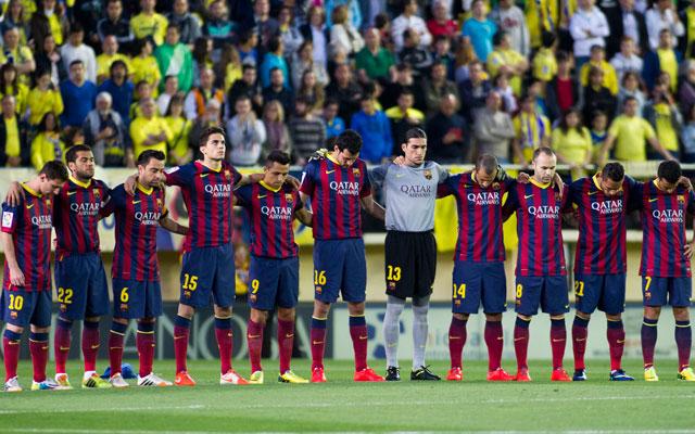 Győzelemmel emlékeztek Vilanovára Messiék - Fotó: AFP