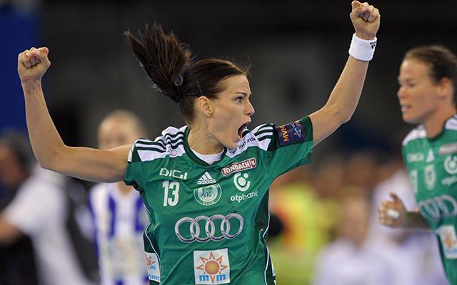 Görbicz Anita a gólkirályi címet is besöpörte - Fotó: AFP