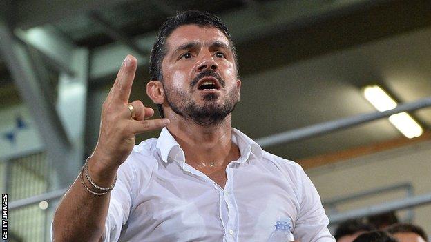 Gattuso pályakezdő edzőnek számít