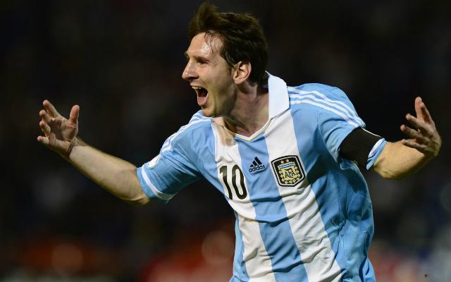 Lionel Messi góllal hangolt a világbajnokságra