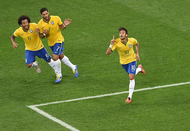Neymar máris bejelentkezett a gólkirályi címért - Fotó: AFP
