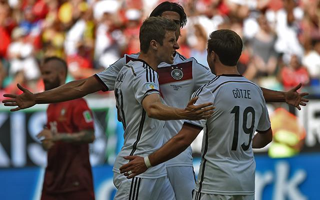 Müller bejelentkezett a gólkirályi címért - Fotó: AFP