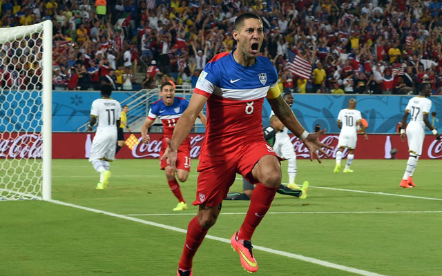 Dempsey villámgólja sokat ért - Fotó: AFP