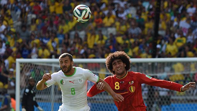 Fellaini bejátszotta magát a kezdőbe? - Fotó: AFP