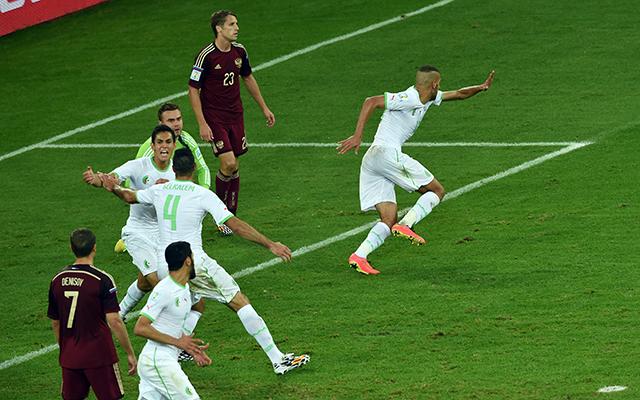 Algériától kapta az újabb fricskát Európa - Fotó: AFP