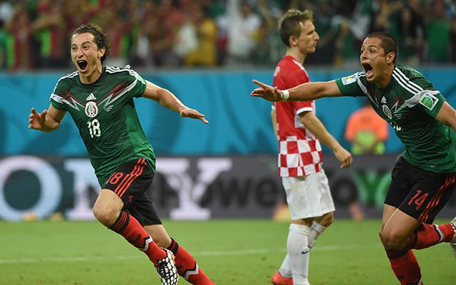 Mexikó a végére kiütötte a horvátokat - Fotó: AFP