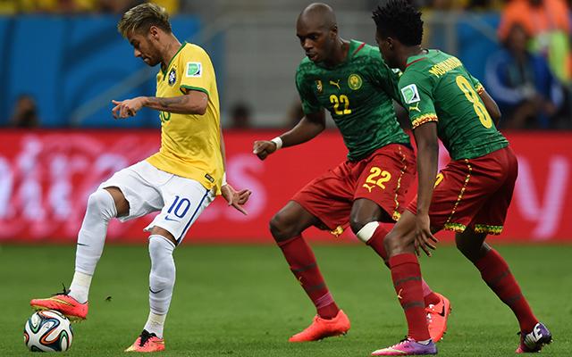 Neymar újabb duplával jelentkezett - Fotó: AFP