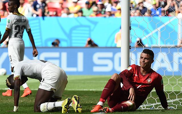 Ronaldo (j) ziccerek sorát hibázta el - Fotó: AFP