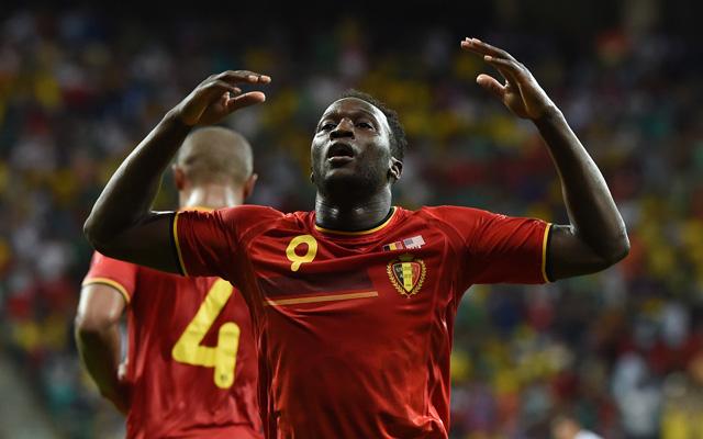Lukaku gólt lőtt és gólpasszt adott - fotó: AFP