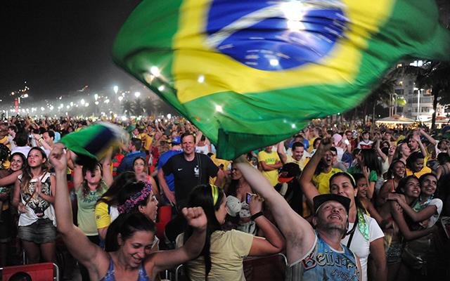 Vajon a végén is örülhetnek a brazilok? - Fotó: AFP